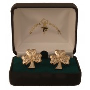 Shamrock Trinity Cuff Links