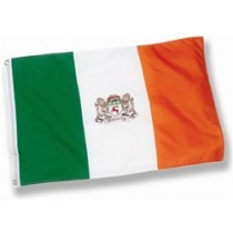 Irish Coat of Arms Flag 2' x 3'