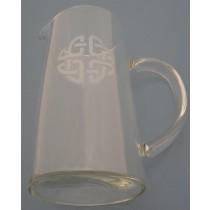 44 oz. Irish Water Pitcher Celtic Knot
