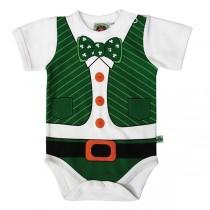 Babies Irish Leprechaun Vest Onesie