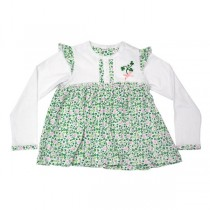 Baby Girl Irish Shamrock Dress