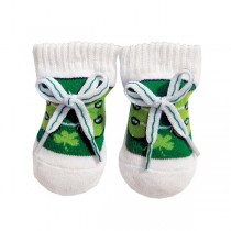 Baby Irish Shamrock Booties