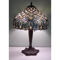 Multi Colored Irish Celtic Tiffany Lamp