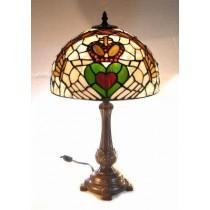 Multi Colored Irish Claddagh Tiffany Lamp