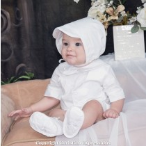 Boys Irish Christening Romper Ensemble 4