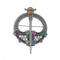 celtic tara irish brooch