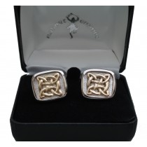 Celtic Ring Mens Cuff Links