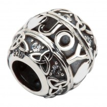 Celtic Trinity Joy Irish Charm Bead