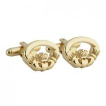 Irish Claddagh Mens Cufflinks