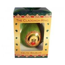 Irish Claddagh Christmas Ornament Bauble