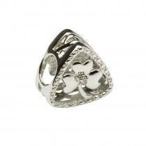 Diamond  Shamrock Triangle Irish Charm