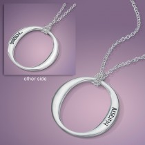 Dream in Gaelic Sterling Silver Pendant