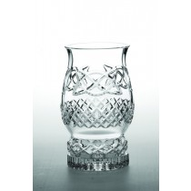 Galway Crystal Celtic Pillar Hurricane Lamp