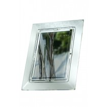 Galway Crystal Shamrock 5 x 7 Photo Frame