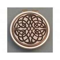 Gold Irish Celtic Swirl Money Clip