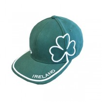 Green Ireland Shamrock Irish Cap