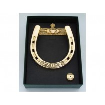 "Irish Horseshoe Claddagh ""Failte"" Door Knocker"