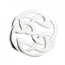 sterling silver irish celtic knot brooch