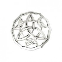 Irish Celtic Trinity Brooch