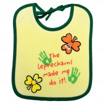 Kids Irish Leprechun Bib