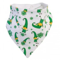 Irish Baby Leprechaun Bib