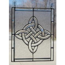 Irish Celtic Beveled Window Ornament