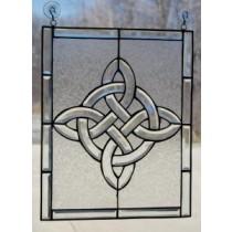 Irish Celtic Beveled Window Ornament