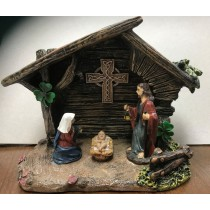 Irish Celtic Nativity Set
