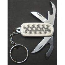Irish Celtic Pocket Knife Keyring