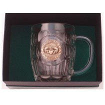 Irish Claddagh Beer Tankard 20 oz.