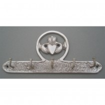 Irish Claddagh Key Holder Nickel Silver