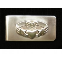 Irish Claddagh Money Clip