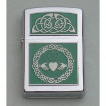 Irish Claddagh Cigarette Lighter