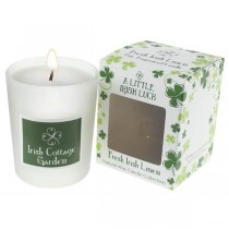 Irish Cottage Garden Irish Candle