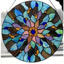 Irish Fairy Pool Stained Glass Window Ornament