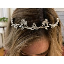 Irish Celtic Shamrock Wedding Tiara
