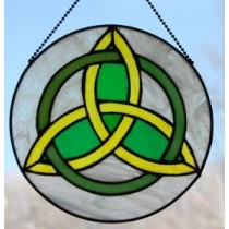Irish Trinity Knot Suncatcher