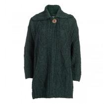 Ladies Single Button Irish Wool Coat