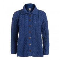 Ladies Wool Irish Cardigan