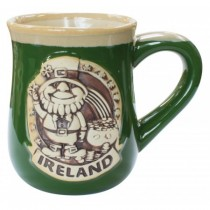 Leprechaun Ireland Pottery Irish Mug