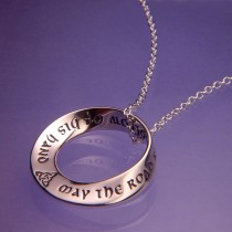 Old Irish Blessing Sterling Silver Pendant