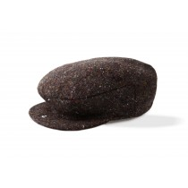 Mens Donegal Tweed Irish Wool Cap