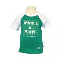 Mines A Pint Irish Baby T-Shirt