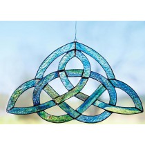 Multi Colored Irish Celtic Suncatcher