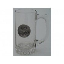 Newgrange Spirals 13 Oz. Beer Mug