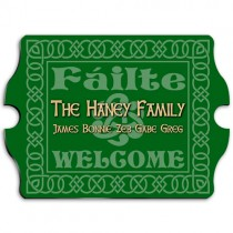 Personalized Irish Celtic Family Sign
