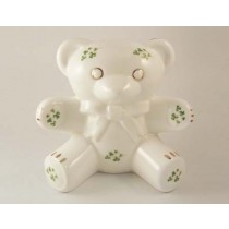 Teddy Bear Bank Trellis Shamrock Royal Tara Fine Bone China