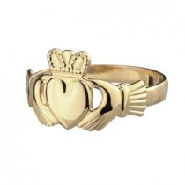 14k Gold Maids Claddagh Ring