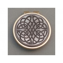 Silver Irish Celtic Swirl Money Clip
