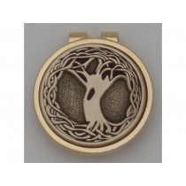 Silver Irish Tree of Life Money Clip